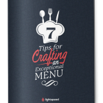 7 tips for crafting an exceptional menu, Lightspeed POS guide