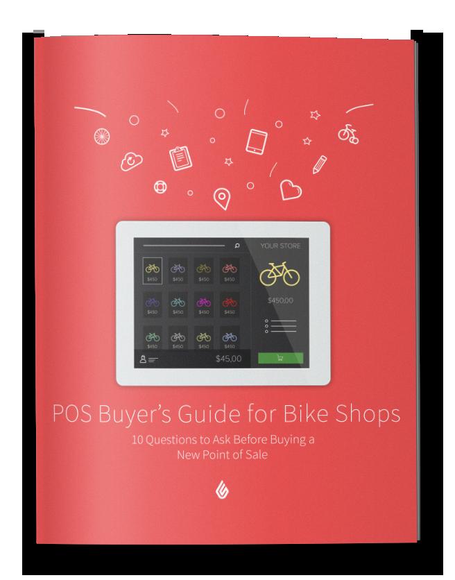 Point de vente pour boutique de vélos