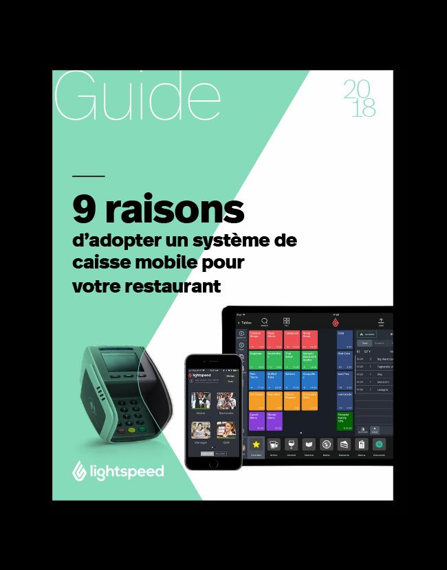 9 raisons d'adopter un système de caisse mobile pour votre restaurant