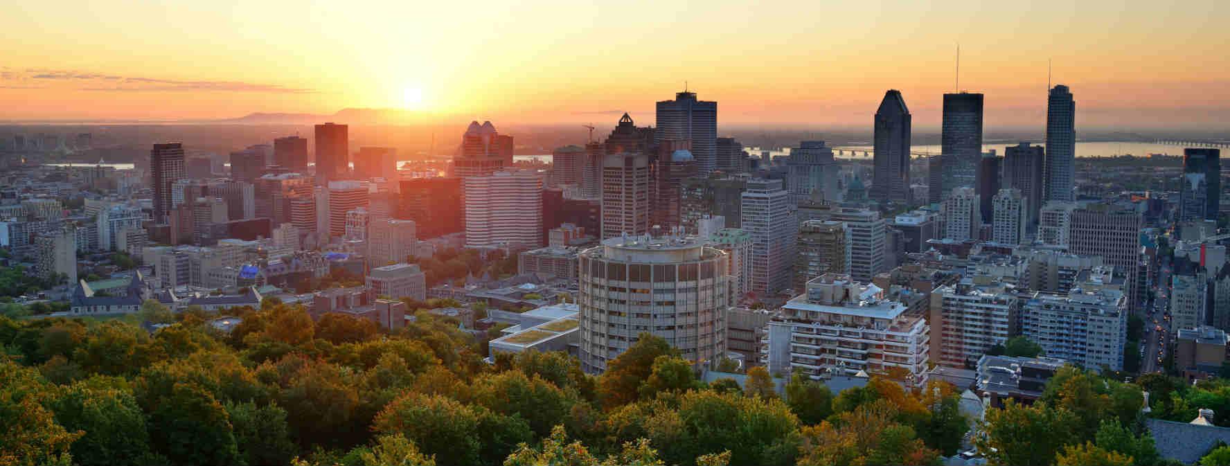Montréal coucher