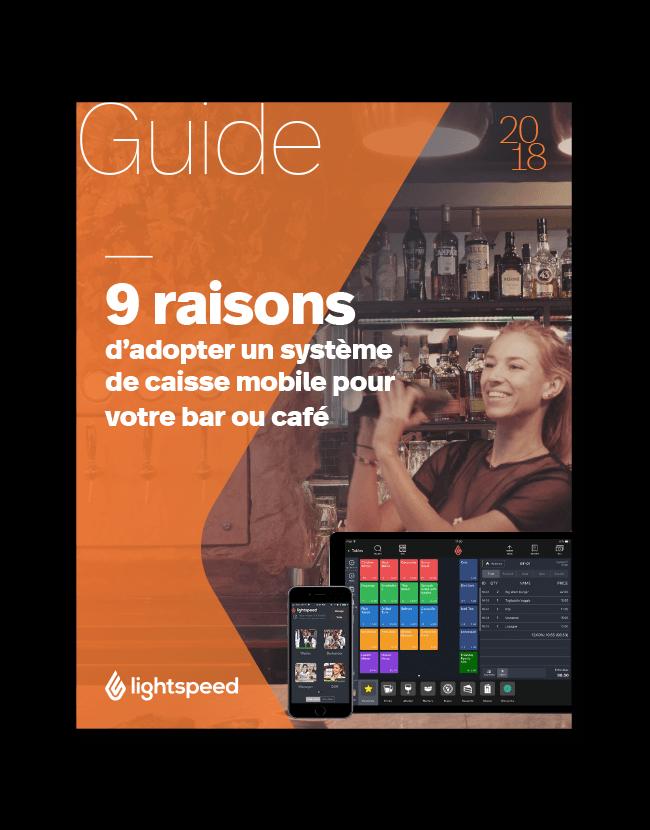 9 raisons d'adopter un système de caisse mobile pour votre bar ou café