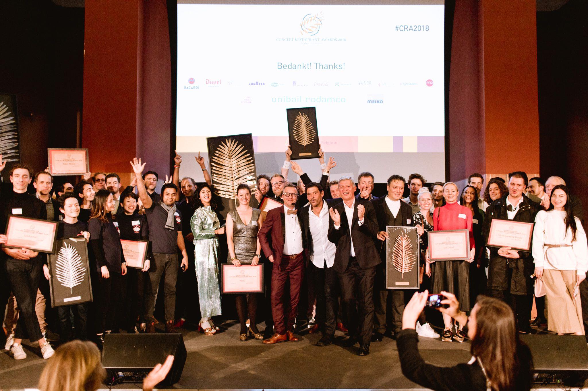 Les Restaurants nominés au Concept Restaurant Awards utilisent Lightspeed