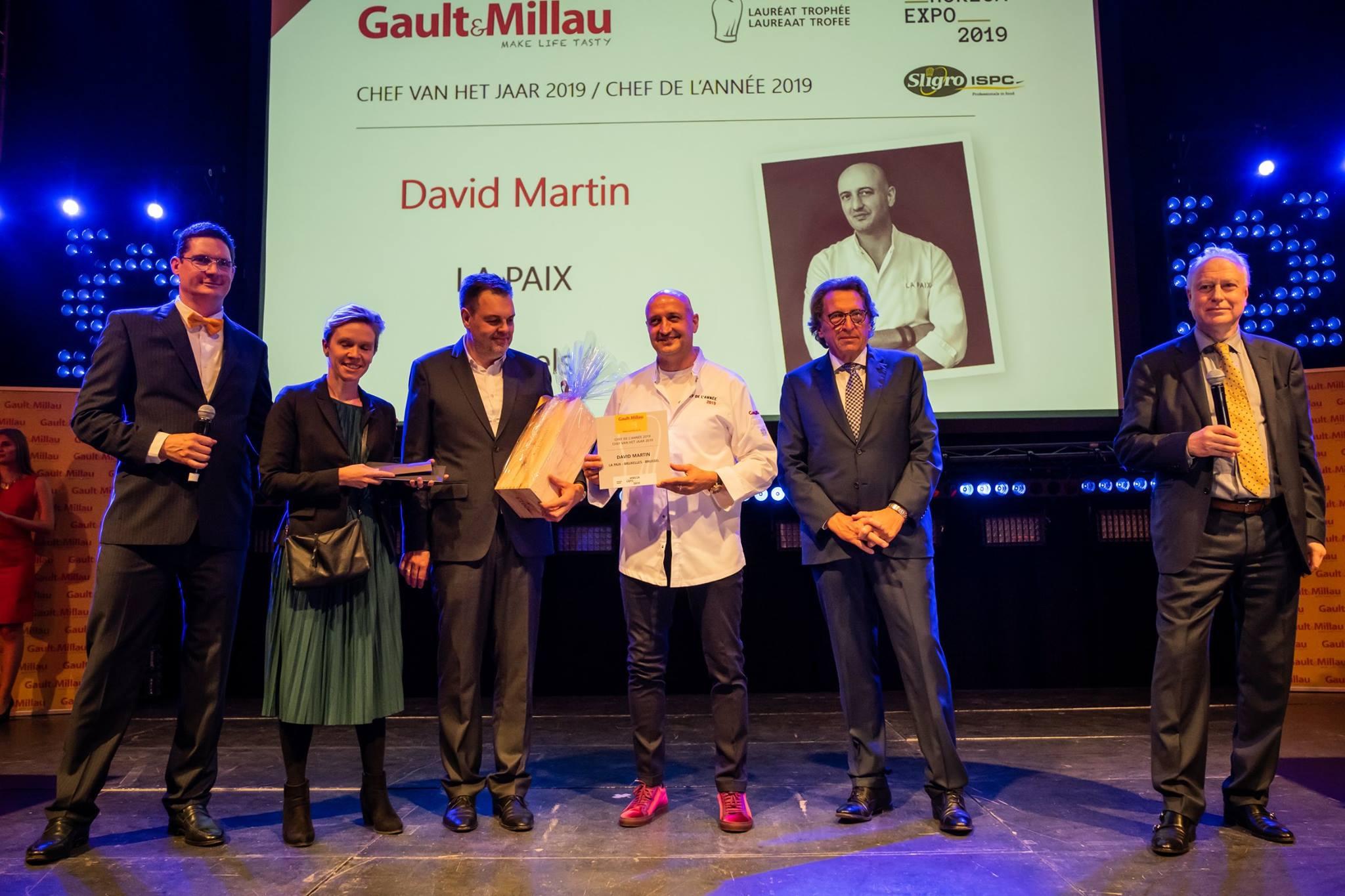 Les grands gagnants de Gault & Millau 2019