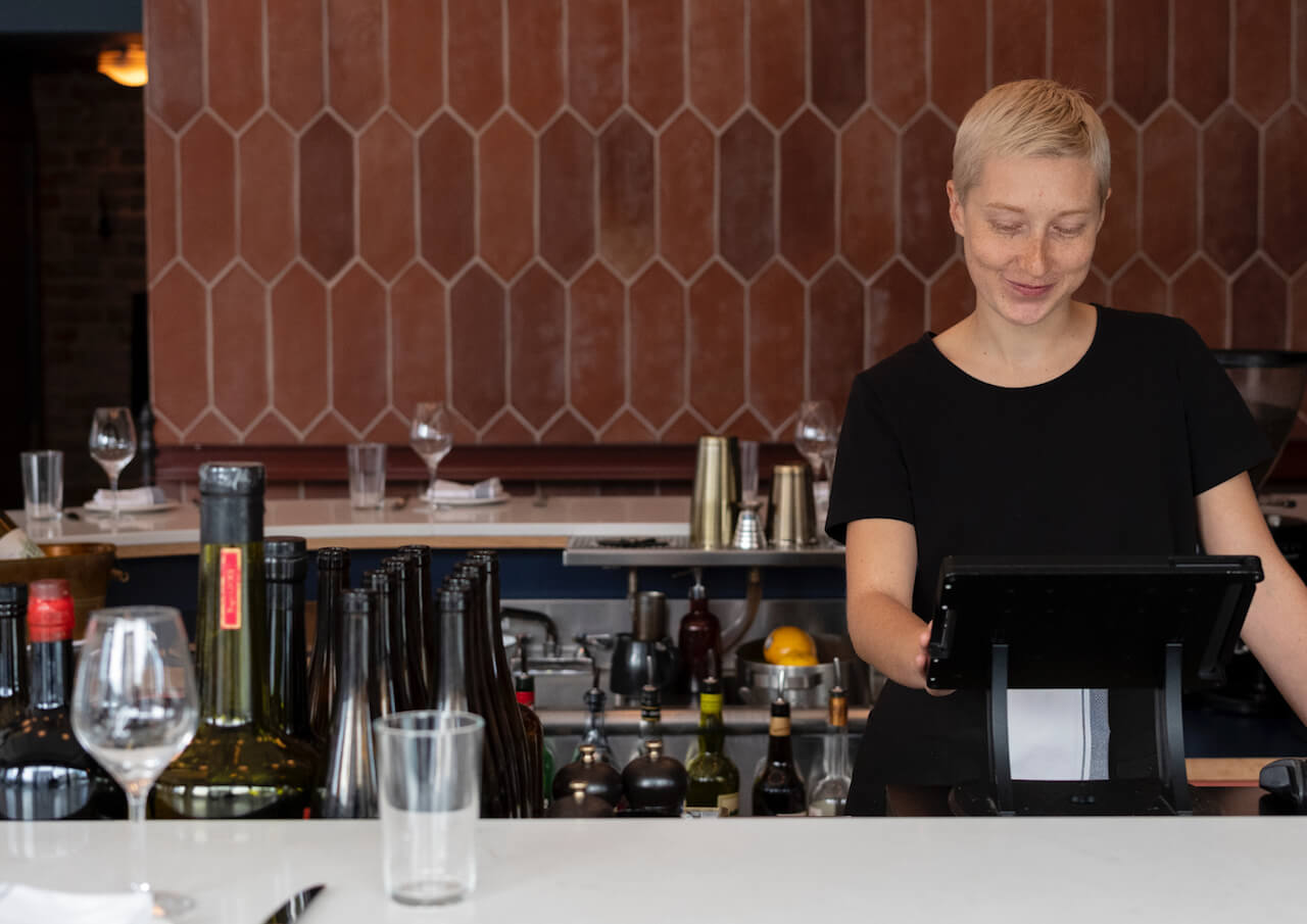 La caisse enregistreuse de pointe pour un service gastronomique