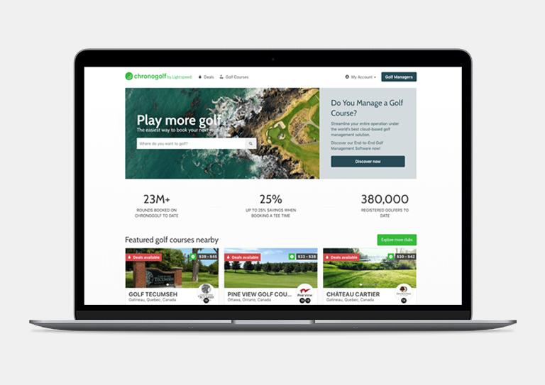 Augmentez votre visibilité avec la plateforme Chronogolf.com