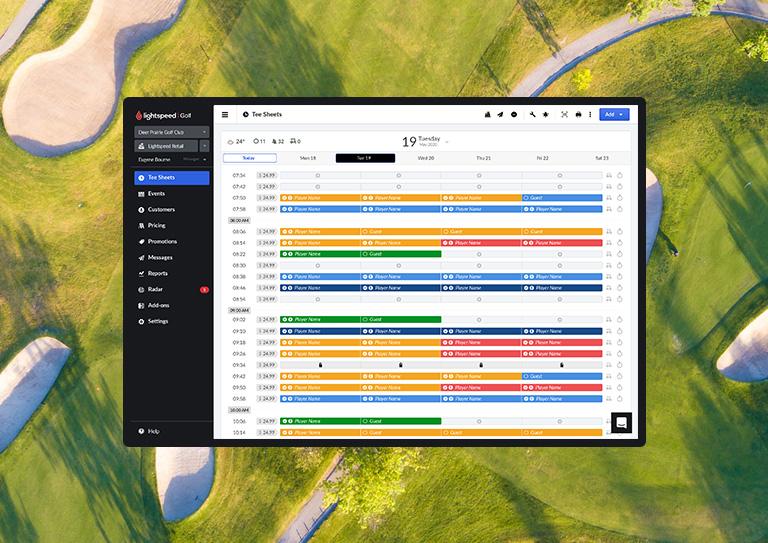 Le système de gestion parfait pour les terrains de golf municipaux