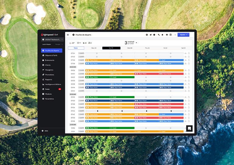 Simplifiez la gestion de votre terrain de golf