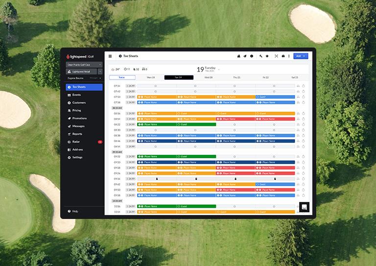 La solution tout-en-un faite pour les terrains de golf semi-privés