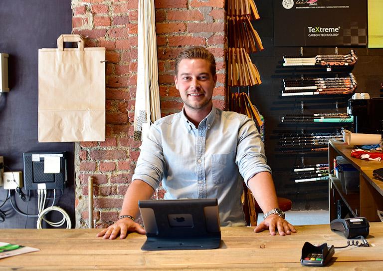 Le système de caisse qui aide les magasins de sport à vendre en ligne