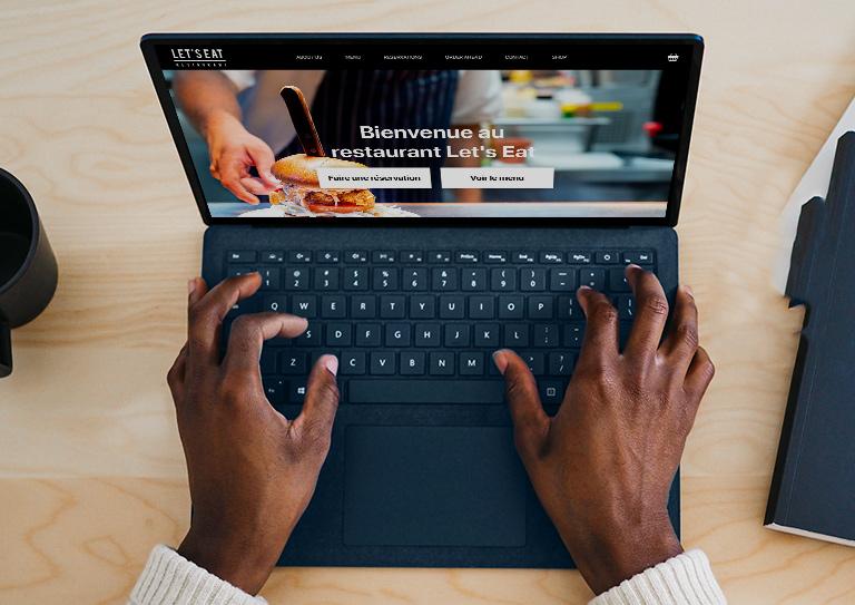 Développez votre activité en ligne avec eCom pour Restaurant