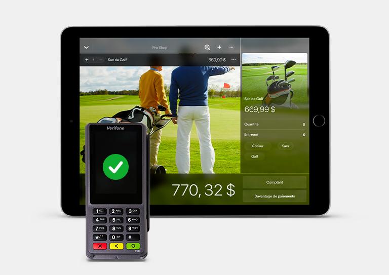 Système de paiement intégré pour les terrains de golf
