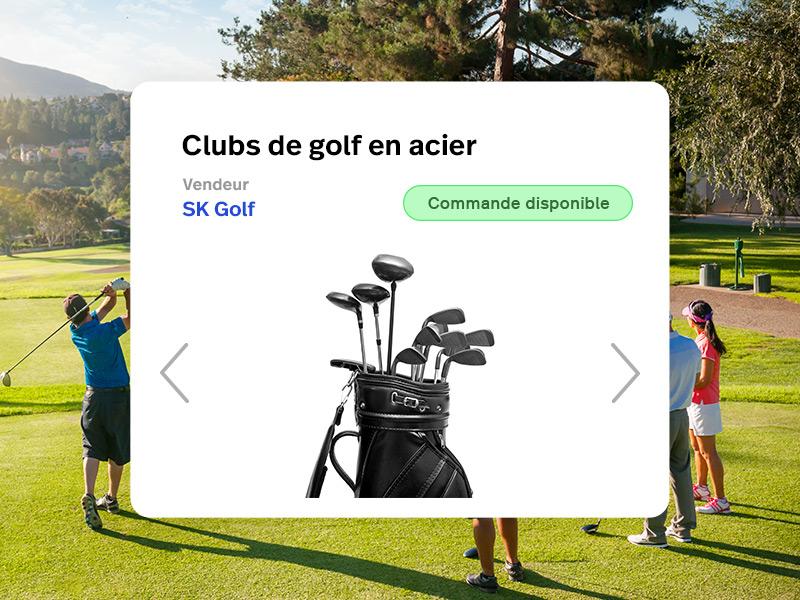 Rejoignez notre réseau de fournisseurs d'articles de golf