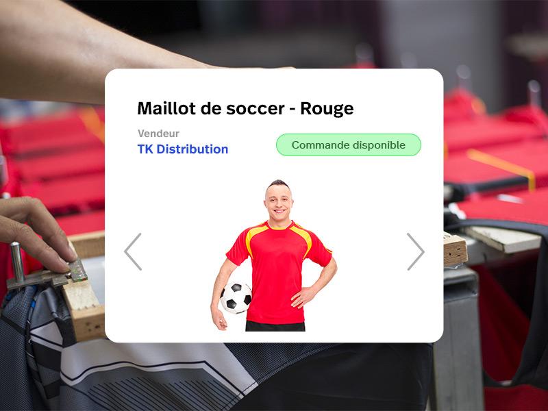 Rejoignez notre réseau de fournisseurs d'articles de sport