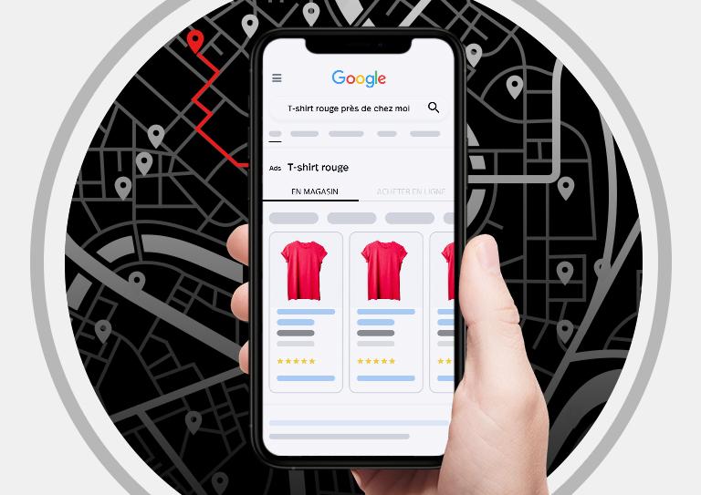 Faites venir les acheteurs sur Google en magasin
